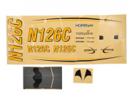 Decal Sheet - Carbon Cub S+ 1.3m - HobbyZone - HBZ3229