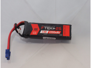 DYMOND F-TEK+ 2S 2200mAh (7,4V) 40C LiPo Pack with LED Indicator (EC3) - Dymond - HSF03199063