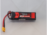 DYMOND F-TEK+ 2S 2200mAh (7,4V) 40C LiPo Pack with LED Indicator (XT60) - Dymond - HSF03199064