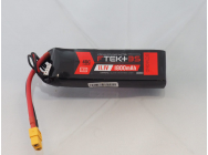 DYMOND F-TEK+ 3S 1800mAh (11,1V) 40C LiPo Pack with LED Indicator (XT60) - Dymond - HSF03199072