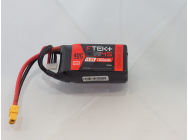 DYMOND F-TEK+ 4S 1300mAh (14,8V) 40C LiPo Pack with LED Indicator (XT60) - Dymond - HSF03199083
