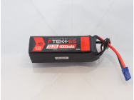 DYMOND F-TEK+ 6S 4000mAh (22,2V) 40C LiPo Pack with LED Indicator (EC5) - Dymond - HSF03199105