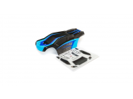 Body Set, Painted - TENACITY T BLACK/BLUE - Losi - LOS230043