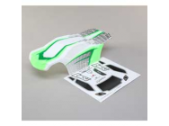 Body Set, Painted - TENACITY T WHITE/GREEN - Losi - LOS230044