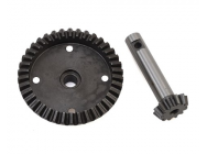 38T Ring & 12T Pinion Gear Fr/Rr - Super Baja Rey - Losi - LOS252075