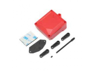 Fuel Cell/Receiver Box (Red) & Servo Arms: ASN - Vaterra - VTR231039