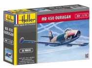 MD450 Ouragan 1/72 Heller - 56201