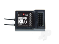 Recepteur RED KA-6  6voies Ikonnik Compatible Hitec - KNNA1004-COPY-1