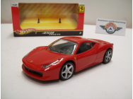 Ferrari 458 ITALIA, Rot, 2009, HOT WHEELS 1:43 - T8417