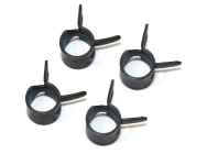 Metal Fuel Clips M6 (x4) - ACC0101