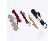 Systeme Eclairage Voiture TT 1/5e et  and 1/8e Off-Road GT Power - GTP0069