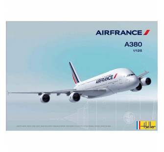 Maquette Airbus A380 Air France 1/125 Heller - HEL-80436