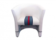 Fauteuil Cabriolet Racing Inside N° 22 Racing Team Blanc - 94900081