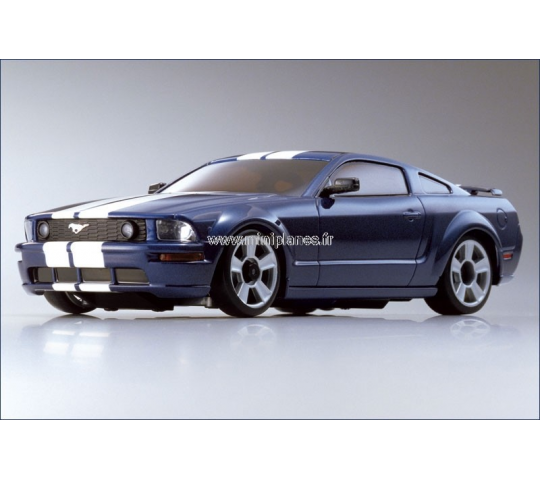 Kyosho Mini Z Ford Mustang  bleue GTR MR-02-MM - KYO-30661MB