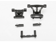 Body mounts, front & rear/ body mount posts, front & rear - TRX-7015