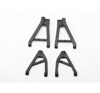 Suspension arm set, rear (includes upper right & left and lower right & left arms) (1/16 Slash) - TRX-7032