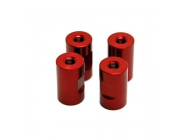 M5 Extension nut 20mm Red - SEC-8071352