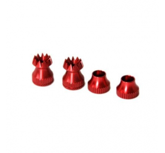 Embouts de manches Rouge M3 (Stick Ends V2- M3 (H, F, S) Red) - SEC-9073407