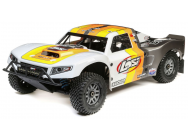Losi 1/5 5ive-T 2.0 4WD Short Course Truck Gas BND Gris/Orange/Blanc - LOS05014T2