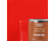 Peinture Chroma Gloss Enamel (Resistant Carburant) Rouge (Pot 125ml) - Guild Materials - GLDCHR6201