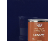 Peinture Chroma Gloss Enamel (Resistant Carburant) Bleu Fonce - Dark Blue (Pot 125ml) - Guild Materials - GLDCHR6204