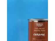 Peinture Chroma Gloss Enamel (Resistant Carburant) Bleu Clair - Light Blue (Pot 125ml) - Guild Materials - GLDCHR6205