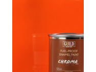 Peinture Chroma Gloss Enamel (Resistant Carburant) Orange (Pot 125ml) - Guild Materials - GLDCHR6206