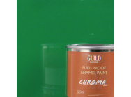 Peinture Chroma Gloss Enamel (Resistant Carburant) Vert (Pot 125ml) - Guild Materials - GLDCHR6217