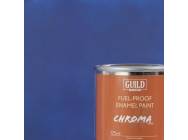 Peinture Chroma Matt Enamel (Resistant Carburant) Bleu Fonce - Dark Blue (Pot 125ml) - Guild Materials - GLDCHR6304