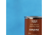 Peinture Chroma Matt Enamel (Resistant Carburant) Bleu Clair - Light Blue (Pot 125ml) - Guild Materials - GLDCHR6305