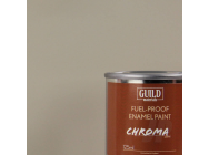 Peinture Chroma Matt Enamel (Resistant Carburant) Gris Clair - Light Grey (Pot 125ml) - Guild Materials - GLDCHR6310