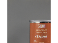 Peinture Chroma Matt Enamel (Resistant Carburant) Gris Fonce - Dark Grey (Pot 125ml) - Guild Materials - GLDCHR6311