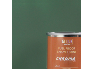 Peinture Chroma Matt Enamel (Resistant Carburant) Vert Fonce - Dark Green (Pot 125ml) - Guild Materials - GLDCHR6312