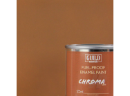 Peinture Chroma Matt Enamel (Resistant Carburant) Dark Earth (Pot 125ml) - Guild Materials - GLDCHR6314