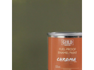 Peinture Chroma Matt Enamel (Resistant Carburant) Olive Drab (Pot 125ml) - Guild Materials - GLDCHR6315