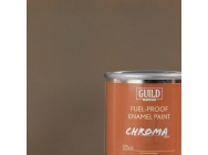 Peinture Chroma Matt Enamel (Resistant Carburant) PC10 Dirty Brown (Pot 125ml) - Guild Materials - GLDCHR6316