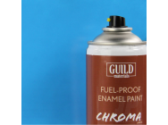 Peinture Chroma Gloss Enamel (Resistant Carburant) Bleu Clair - Light Blue (400ml Aerosol) - Guild Materials - GLDCHR6405