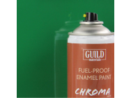 Peinture Chroma Gloss Enamel (Resistant Carburant) Vert (400ml Aerosol) - Guild Materials - GLDCHR6417