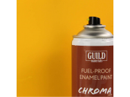 Peinture Chroma Matt Enamel (Resistant Carburant) Cub Yellow (400ml Aerosol) - Guild Materials - GLDCHR6502