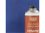 Peinture Chroma Matt Enamel (Resistant Carburant) Bleu Fonce - Dark Blue (400ml Aerosol) - Guild Materials - GLDCHR6504