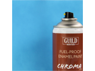 Peinture Chroma Matt Enamel (Resistant Carburant) Bleu Clair - Light Blue (400ml Aerosol) - Guild Materials - GLDCHR6505