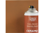 Peinture Chroma Matt Enamel (Resistant Carburant) Dark Earth (400ml Aerosol) - Guild Materials - GLDCHR6514