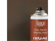 Peinture Chroma Matt Enamel (Resistant Carburant) PC10 Dirty Brown (400ml Aerosol) - Guild Materials - GLDCHR6516