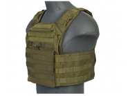 Gilet Plate Carrier Speed Attack od 1000D - Lancer Tactical - A68602