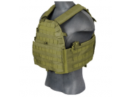 Gilet Plate Carrier 69T4 od 1000D - Lancer Tactical - A68603