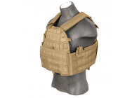Plate Carrier 69T4 tan 1000D - Lancer Tactical - A68604