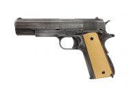 Replique 1911 Molon Labe Grip tan gaz GBB - AW CUSTOM - PG42460