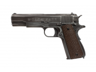 Replique 1911 Molon Labe Grip marron gaz GBB - AW CUSTOM - PG42461