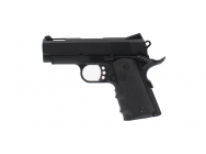 Replique pistolet 1911 Mini noir gaz GBB - AW CUSTOM - PG42468