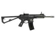 Replique Knight s Armament PDW M2 Gaz GBBR noir - AW CUSTOM - LG4000